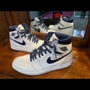 """🔥 Nike Air Jordan 1 High OG """"Metallic Navy"""" 🔥"""